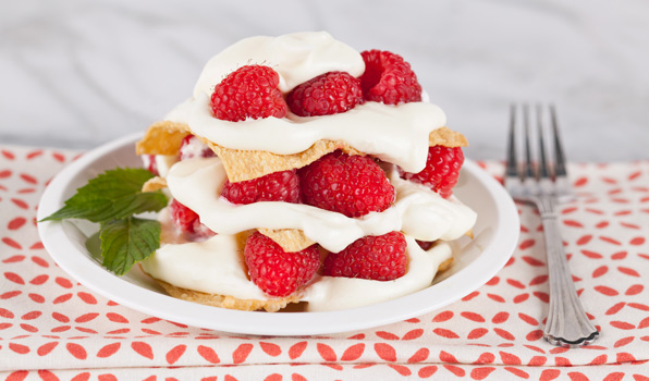 in the kitchen with stefano faita easy berry napoleons with raspberries