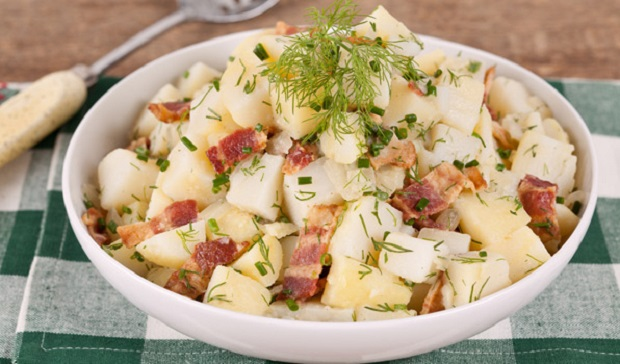 Potato Salad with Bacon and Dill