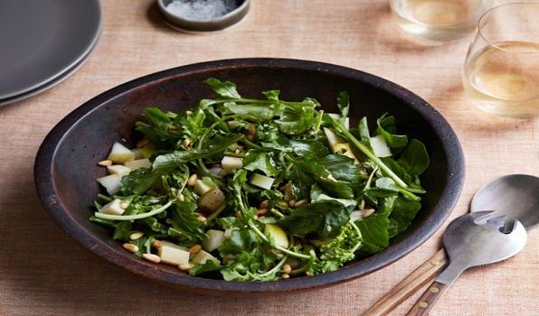 Grana, Arugula, Pear Salad