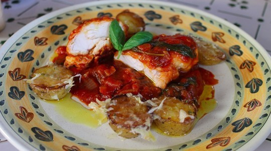 Chicken in Marsala Sauce