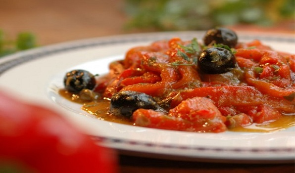Zia Franca's Roasted Peppers