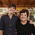 chef Donal Skehan with and elder woman