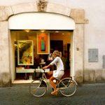 kylie-on-bike
