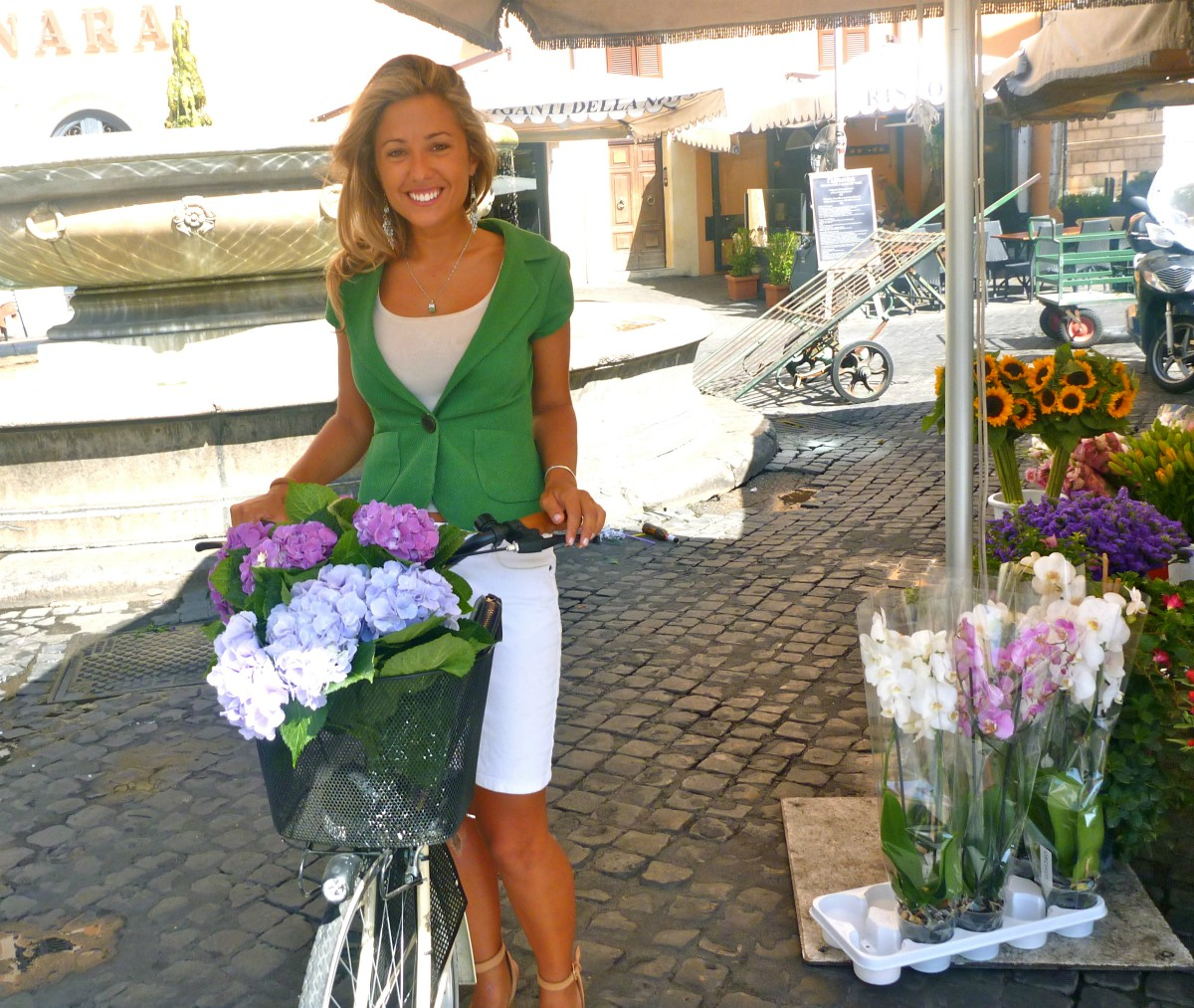 kylie-with-flowers
