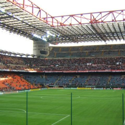 Score at San Siro Stadium