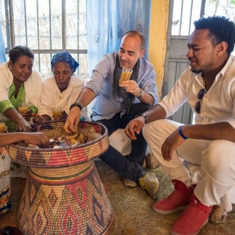 Last Supper in Lalibela, Ethiopia